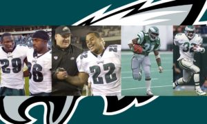 greatest eagles running backs all time