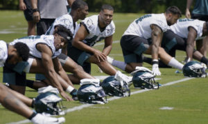 Eagles undrafted rookies