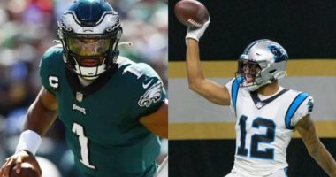 eagles vs panthers betting